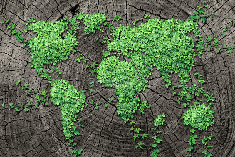 Diffusione globale illustrazione vettoriale