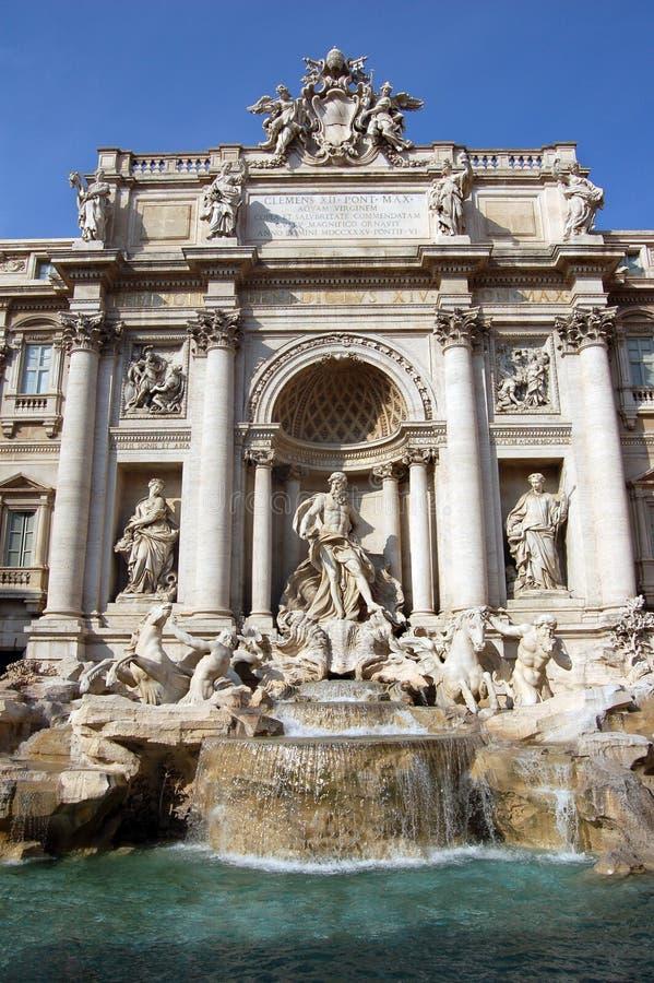 difontana italy rome trevi royaltyfri fotografi
