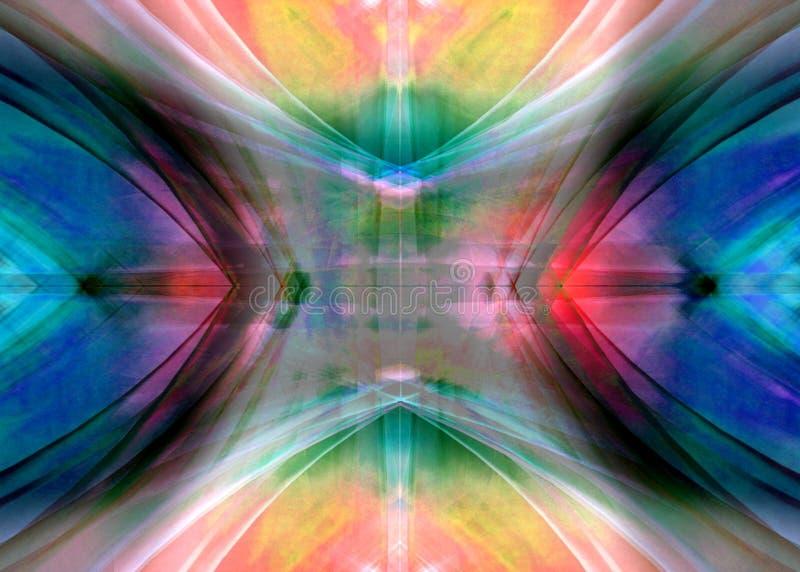 Difusión colorida 3 ilustración del vector