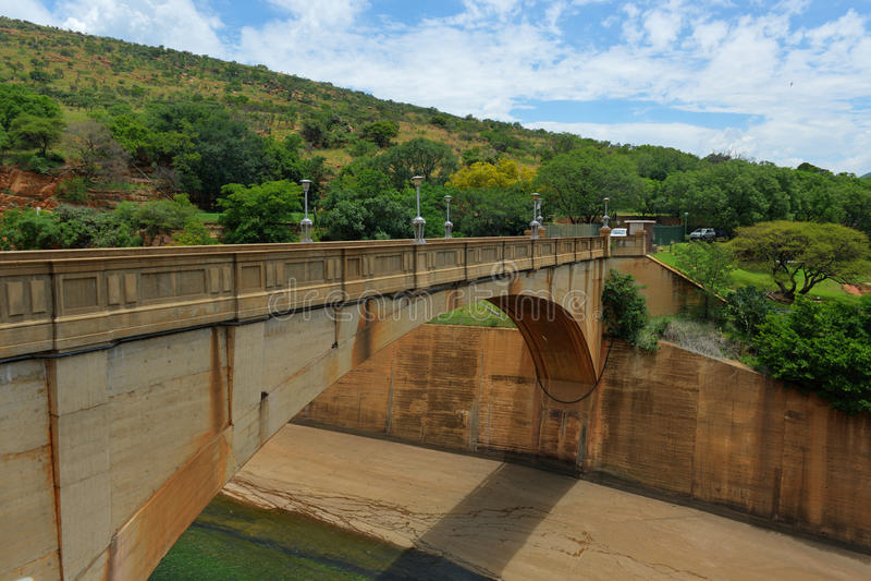 Diga di Hartbeespoort - Sudafrica fotografia stock