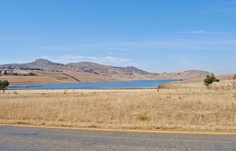 Diga di Hawane nello Swaziland fotografia stock