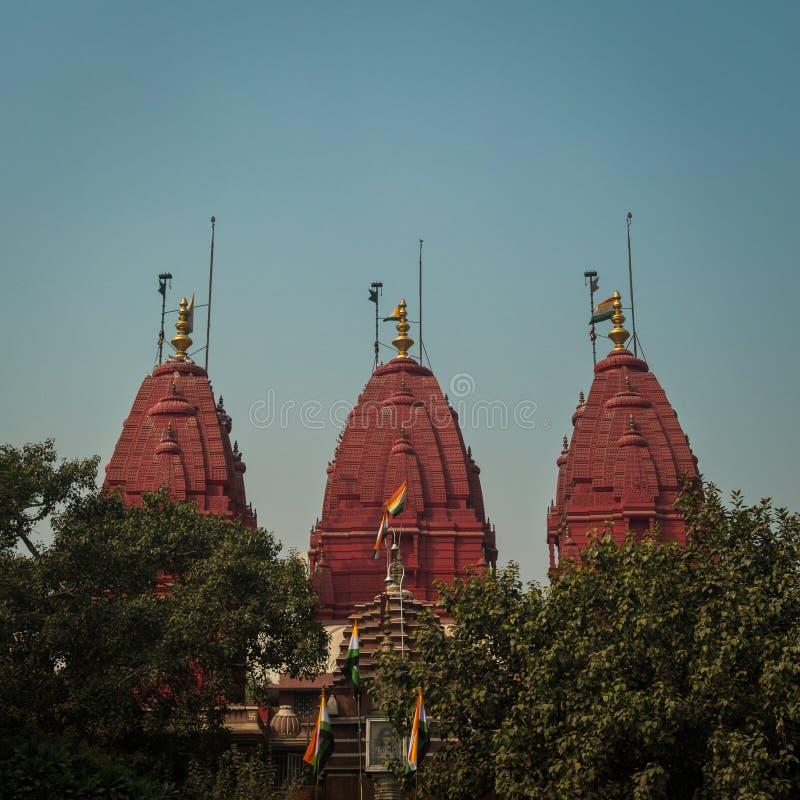 Digambar耆那教的寺庙 免版税库存照片