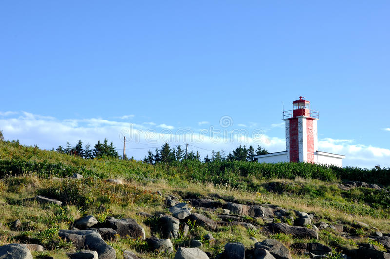 Digby Lighthouse stock photography