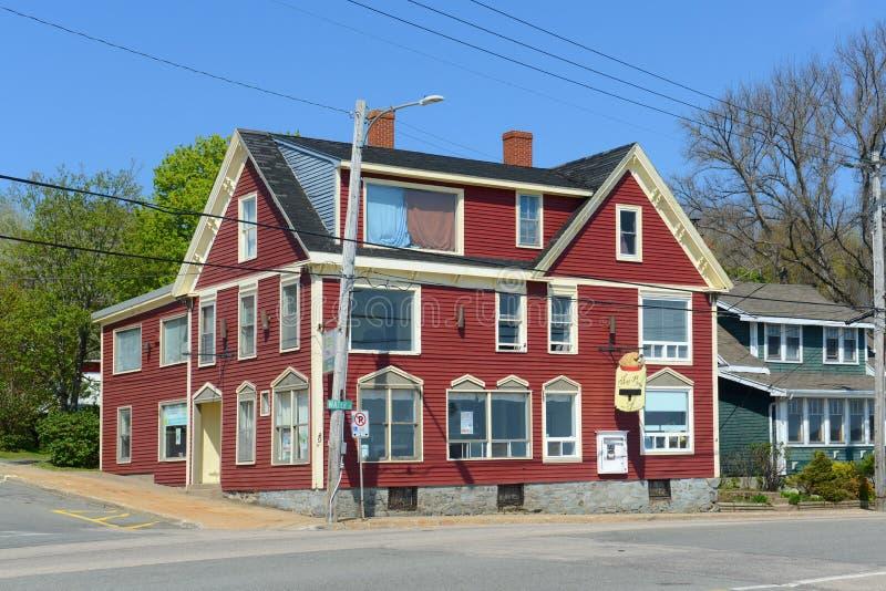 Digby, Nova Scotia, Canada stock photography