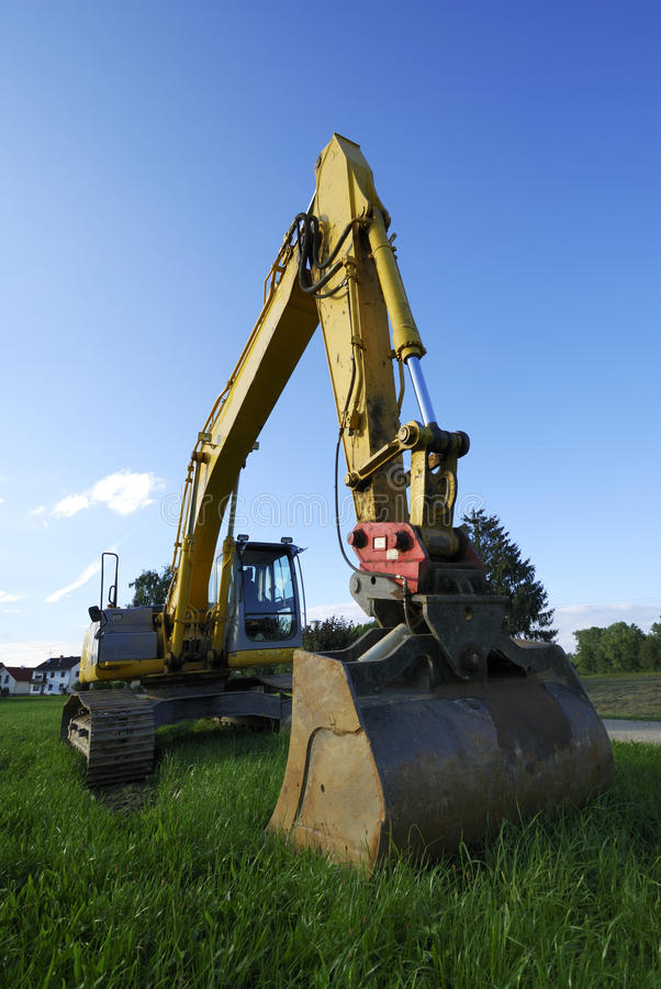 Download Digger stock image. Image of machinery, construction - 21782481
