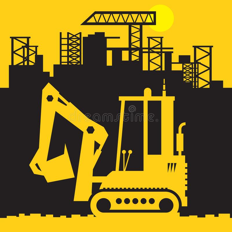 Free Digger, Construction Power Machinery Royalty Free Stock Photography - 133078817