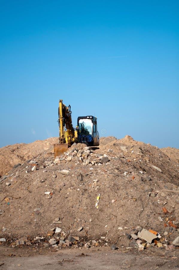 Download Digger Demolition stock image. Image of bucket, demolish - 18319667