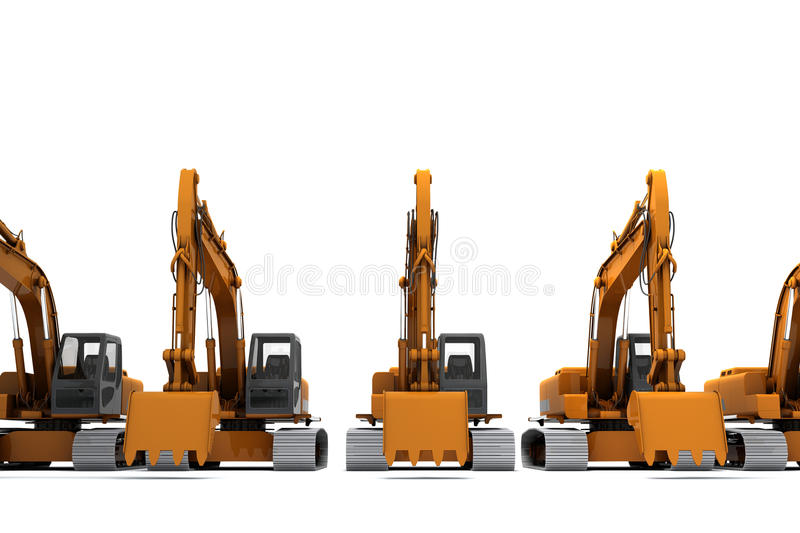 Download Diggers Royalty Free Stock Images - Image: 13546329