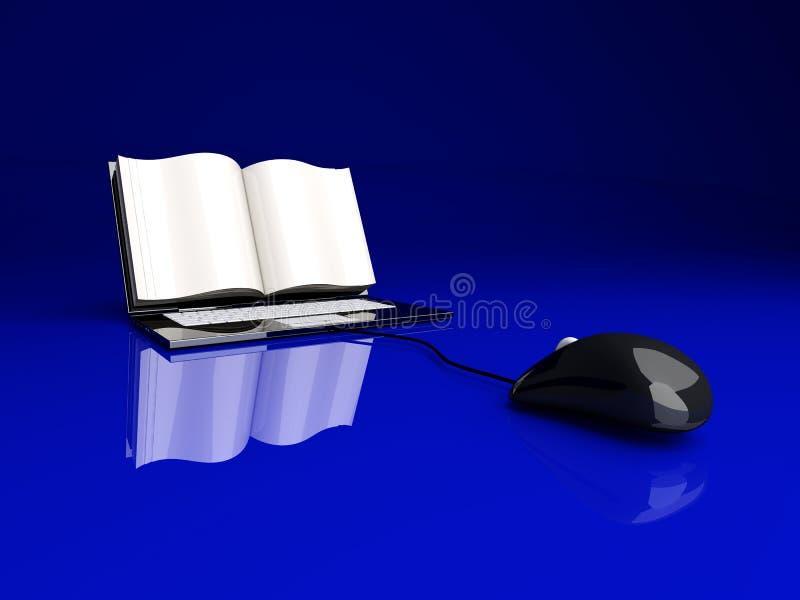 Digitaal Boek stock illustratie