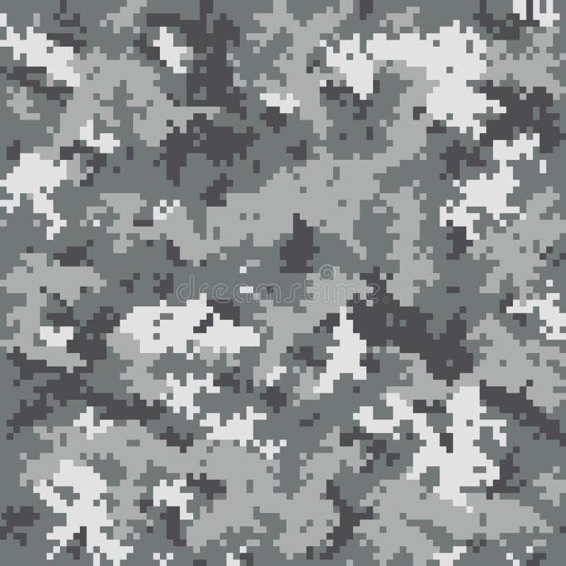 Digitaal camouflagepatroon royalty-vrije illustratie