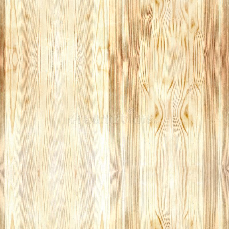 Digitaal Document voor Scrapbooking Lichte Houten naadloze Textuur stock fotografie