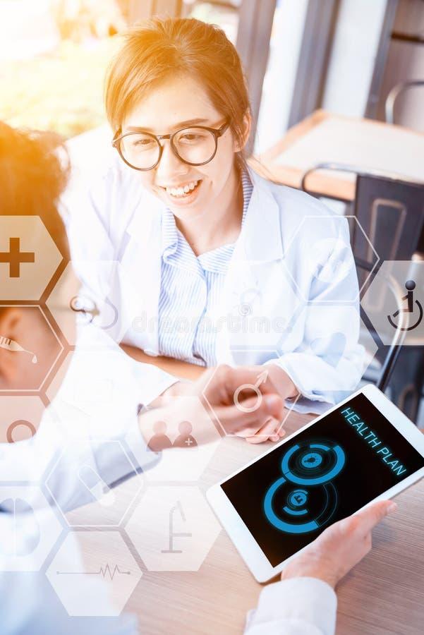 Digitaal Gezondheidsconcept stock afbeelding