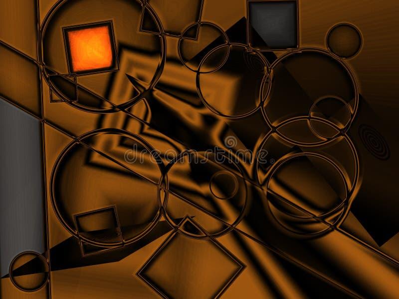 Digitaal Goud vector illustratie