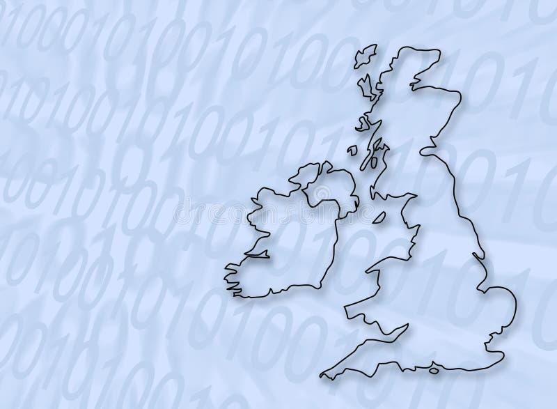 Digitaal Groot-Brittannië vector illustratie