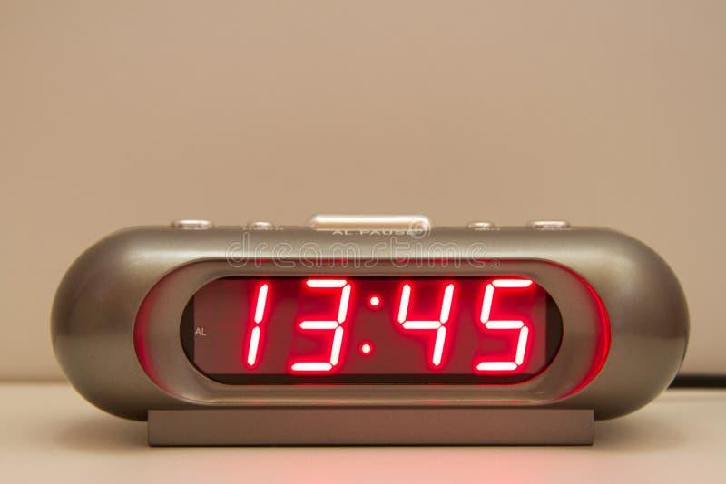 Digitaal Horloge royalty-vrije stock afbeeldingen