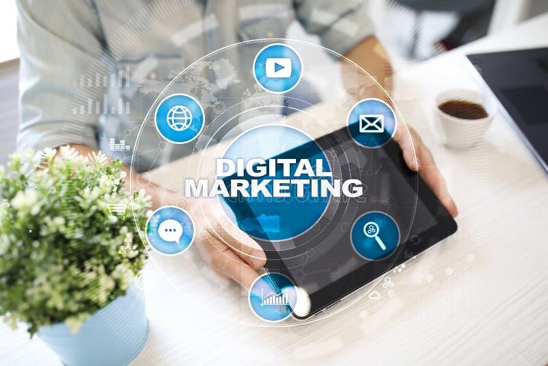 Download Digitaal Marketing Technologieconcept Internet Online Zoekmachineoptimalisering SEO SMM Reclame Stock Illustratie - Illustratie bestaande uit achtergrond, onderzoek: 114225028