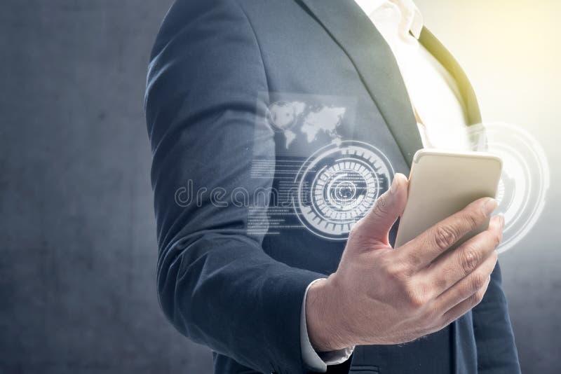 Digitaal technologieconcept stock foto's