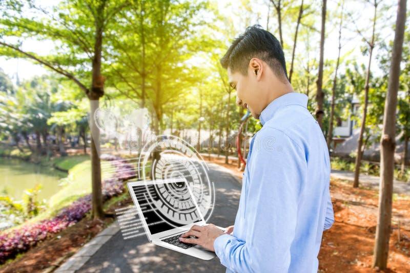 Digitaal technologieconcept royalty-vrije stock foto's