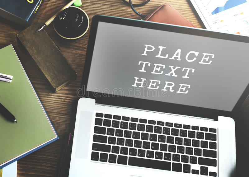 Digitaal van de Start apparatencommunicatietechnologie Concept stock fotografie