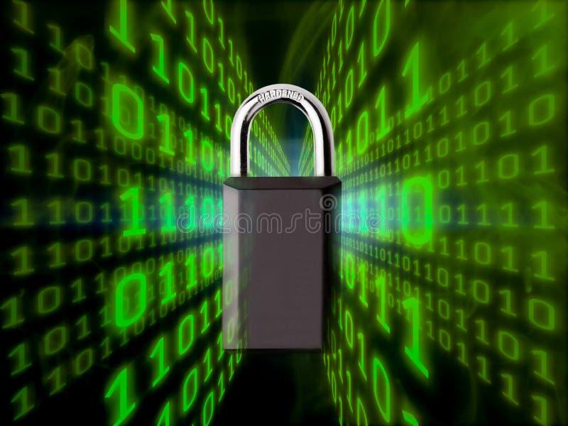 Digitaal veiligheidsconcept stock foto