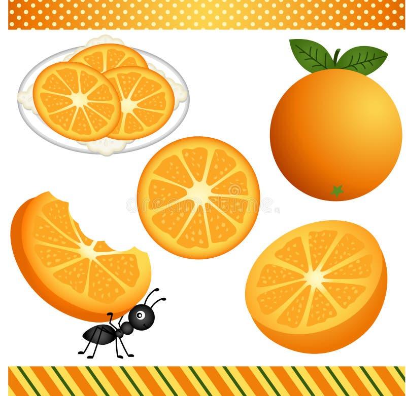 Download Digitaces Anaranjadas Clipart Ilustración del Vector - Ilustración de digital, scrapbook: 44855718