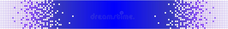 Digitahi e bandiera Analog - azzurro immagini stock libere da diritti