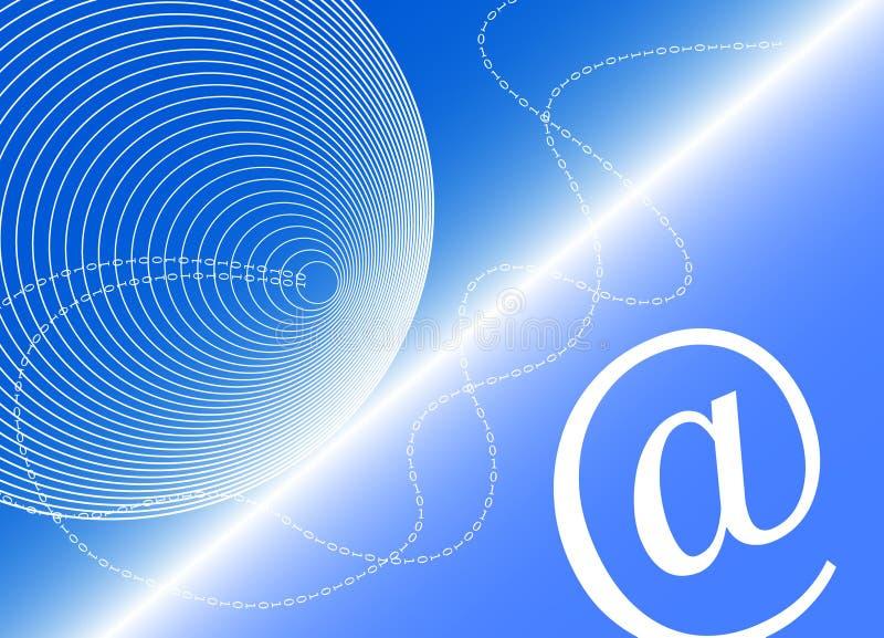 Digital-Ära lizenzfreie abbildung