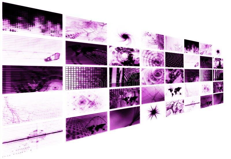 digital ålderaffär vektor illustrationer