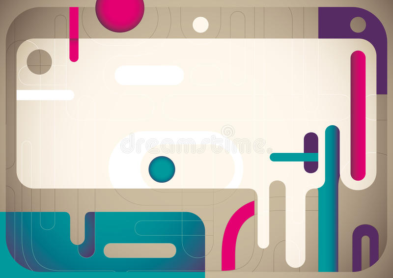 Download Digital abstract banner. stock vector. Illustration of composition - 23759113