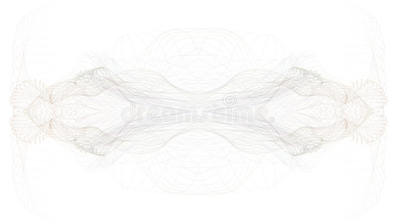 Digital abstract graphic art on white background stock photo