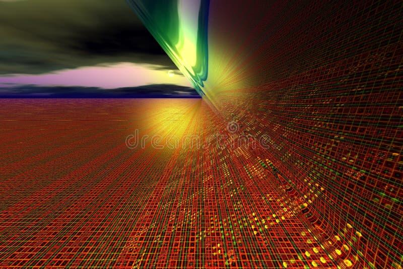 Digital abstraction III royalty free illustration