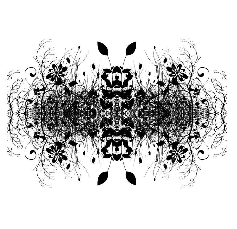 digital abstrakt dekorativ design arkivfoto