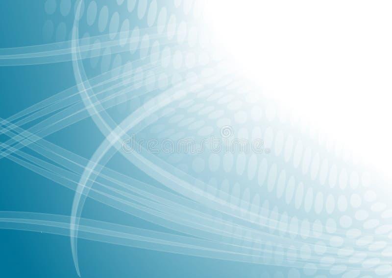 Digital abstrato claro azul ilustração stock
