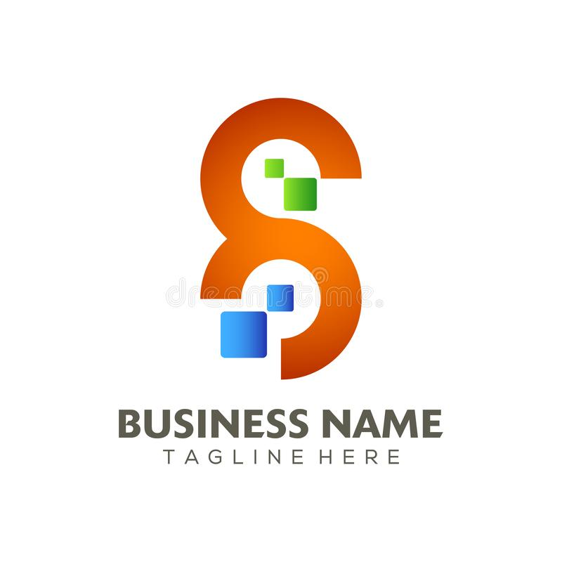 Digital Advertising Logo And Icon Design Stock Vector ...