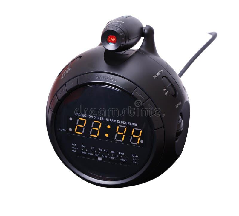 Digital alarm clock royalty free stock image