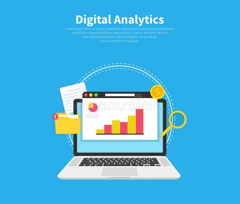 Web Traffic Data Analysis Stock Illustration Illustration