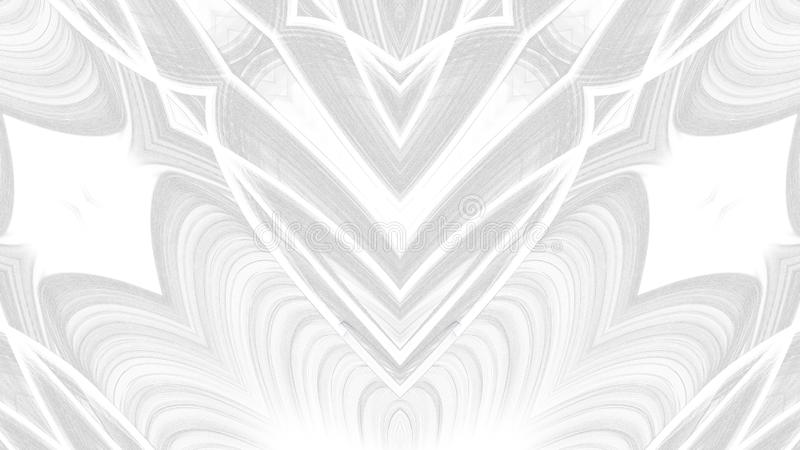 Digital art abstract gray design on white background royalty free illustration