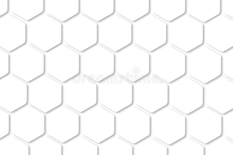 Digital art illustrator background. Hexagon shape, white, shiny black.background ideas for your design banners , book, Website vector illustration