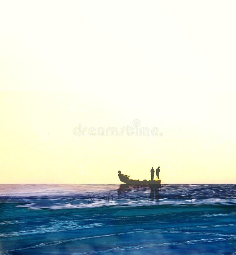 Digital art made by Henrik Lee. Digital art made by Henrik. Fish, sea, water, food, nature, fishing, background, white, ocean, seafood, fresh, healthy, meal stock image