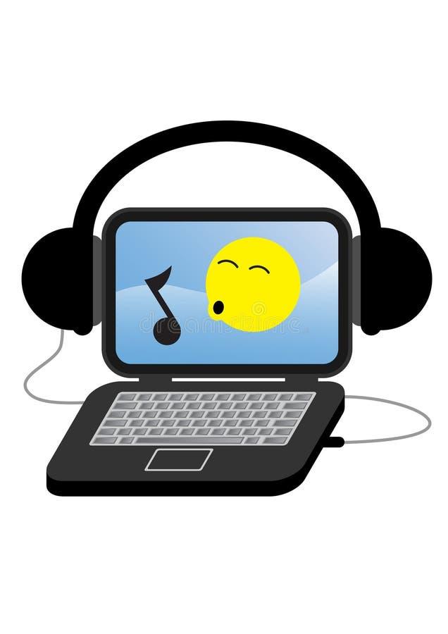 Digital-Audio lizenzfreie abbildung