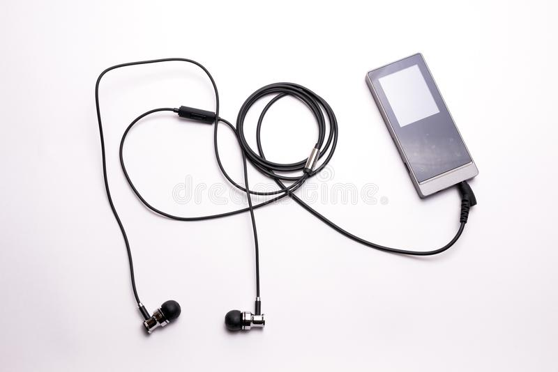 Digital audio player royalty free stock images