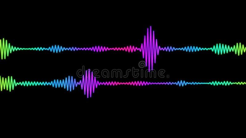 Digital Audio Spectrum stock video  Video of computer - 79179791