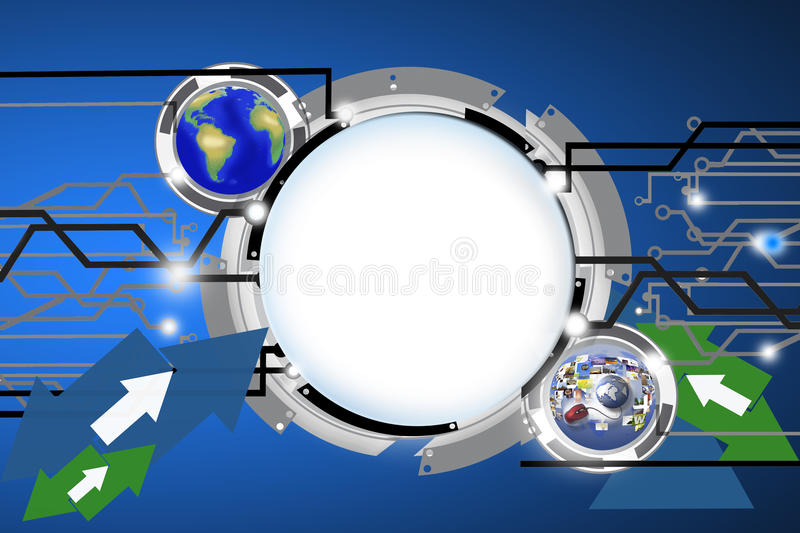 Download Digital Background Royalty Free Stock Photos - Image: 24906648
