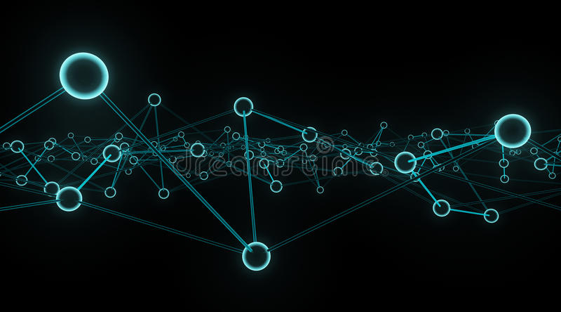 Download Digital background stock illustration. Illustration of networking - 25269375