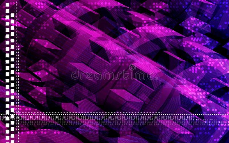 Download Digital background stock illustration. Image of pink, velocity - 6202960
