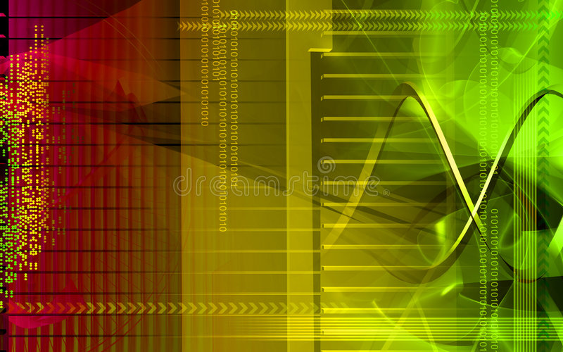 Digital background vector illustration
