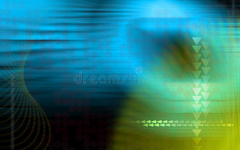 Digital background royalty free illustration