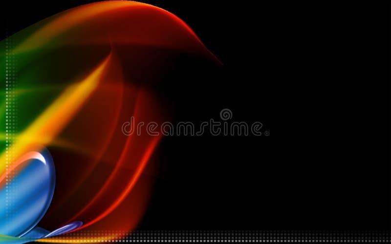 Digital background. Digital illustration of digital background