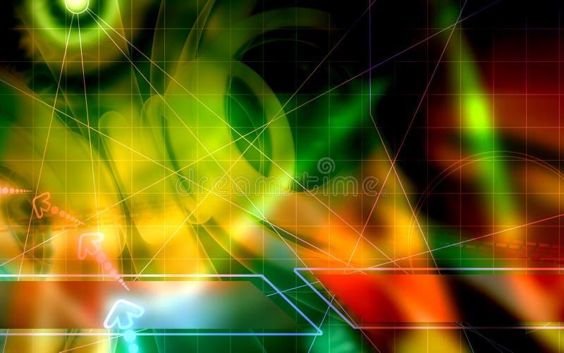 Download Digital background stock illustration. Illustration of dimensional - 7115793