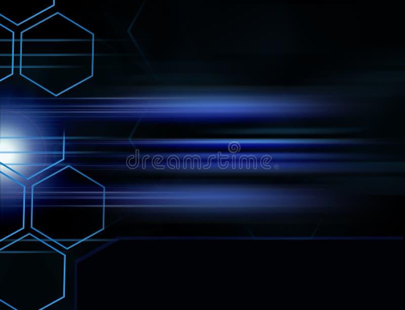 Digital Background Grid stock illustration